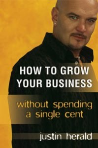 How to grow your business Justin Herald